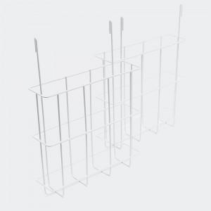 Broschyrbehållare till gatuprataren, set av 2