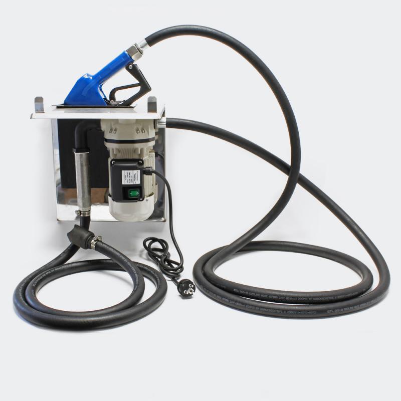 AdBlue® pump 40 L/min, självsugande membranpump med pistol