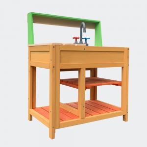 Leksakskök trä för utomhusbruk