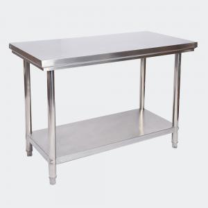 Arbetsbänk i rostfritt stål 120x60x85 cm