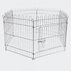 Hage galvaniserad stål 6 sektioner 70x76 cm