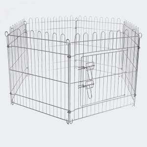 Hage galvaniserad stål 6 sektioner 70x105 cm