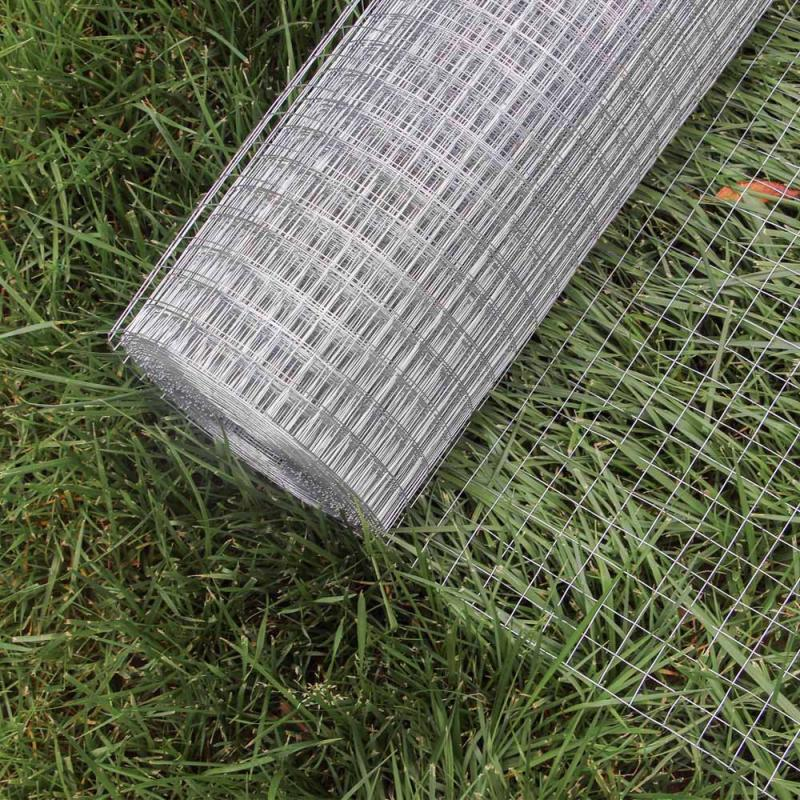Trådnät galvaniserat 1m x 10m maska 19x19mm