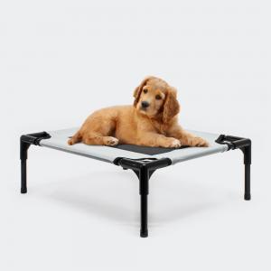 """Hundbädd """"M"""" max. 40kg hopfällbar outdoor GRÅ"""