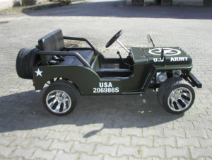 Mini Jeep 150cc Automat LED strålkastare