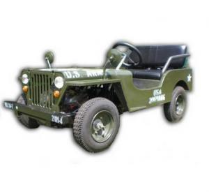 Mini Jeep 110cc - Bensinmotor, fjädring, automat, upp till 45km/h