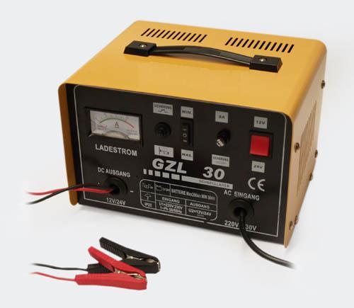 Batteriladdare Bly / syra 12V & 24V 30A