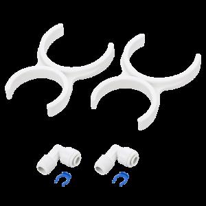 Anslutnings set för filterpatroner