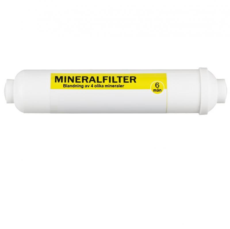 Mineralfilter 4 olika mineraler