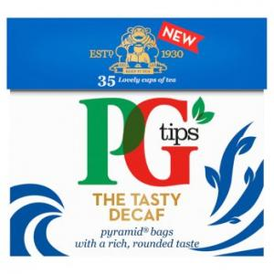 PG Tips Decaf Tea 35s