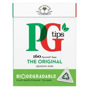 PG Tips Original Tea 160s