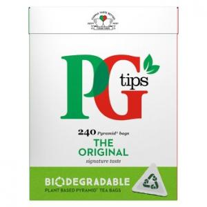 PG Tips Original Tea 240s