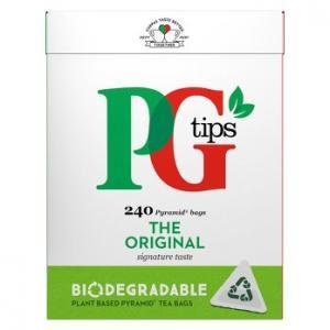 PG Tips Original Tea 240s
