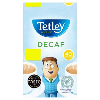Tetley Decaf Tea 40s