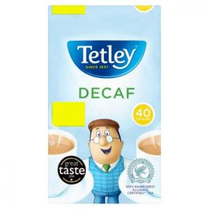 Tetley Decaf Tea 40s