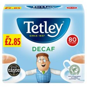 Tetley Decaf Tea 80s