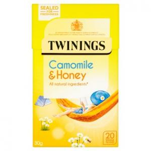 Twinings Camomile & Honey Tea 20s