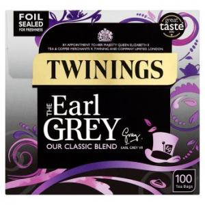 Twinings Earl Grey Tea 100s