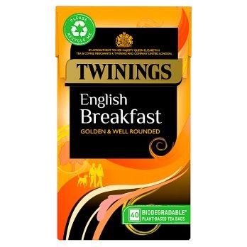 Twinings English Breakfast Tea 50s