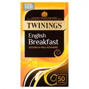 Twinings English Breakfast Tea 50s