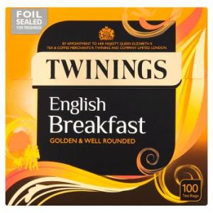 Twinings English Breakfast Tea 100s