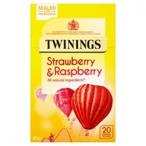 Twinings Strawberry & Raspberry Tea 20s