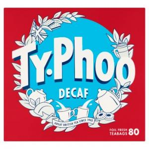 Typhoo Decaf Tea 80s