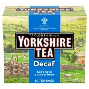 Taylors Of Harrogate Yorkshire Tea Decaf 80s