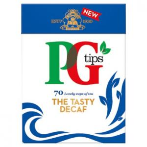 PG Tips Decaf Tea 70s