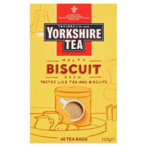Taylors Of Harrogate Yorkshire Tea Biscuit Brew 40s