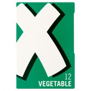 Oxo Vegetable Stock Cubes 12pk