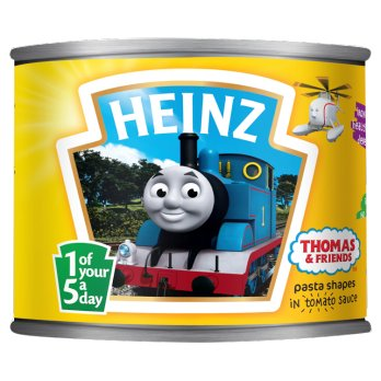 Heinz Thomas & Friends Pasta Shapes 205g