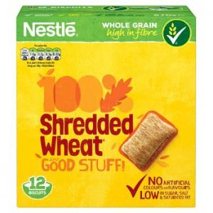 Nestle Shredded Wheat 12pk