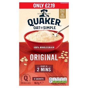 Quaker Oat So Simple Original 8pk