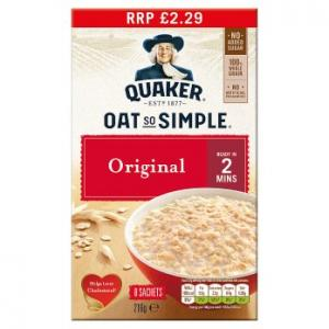 Quaker Oat So Simple Original 8pk