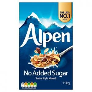 Weetabix Alpen No Added Sugar 1.1kg