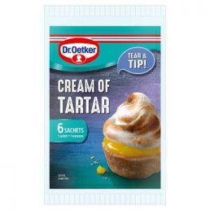 Dr Oetker Cream Of Tartar 6pk