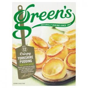 Greens Crispy Yorkshire Pudding Mix 125g