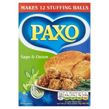 Paxo Sage & Onion Stuffing Mix 170g