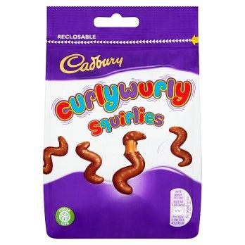 Cadbury Curly Wurly Squirlies 110g