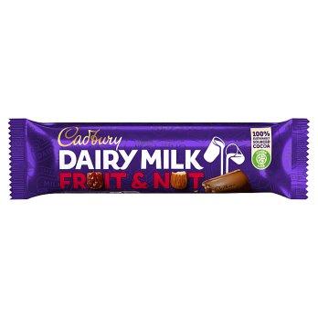 Cadbury Dairy Milk Fruit & Nut 49g