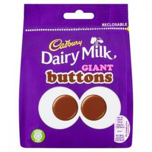 Cadbury Dairy Milk Giant Buttons 95g