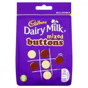 Cadbury Dairy Milk Mixed Buttons 115g