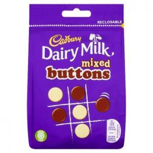 Cadbury Dairy Milk Mixed Buttons 115g