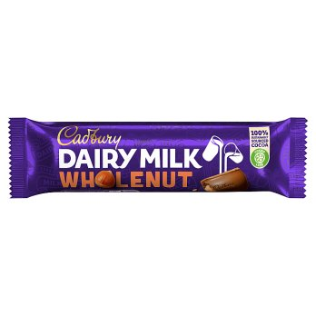 Cadbury Dairy Milk Whole Nut 45g