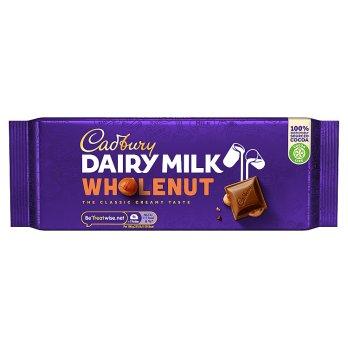 Cadbury Dairy Milk Whole Nut 200g