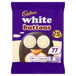 Cadbury White Buttons 32.4g