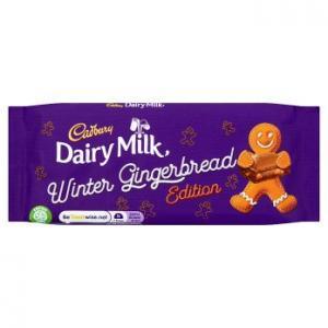 Cadbury Dairy Milk Gingerbread 120g