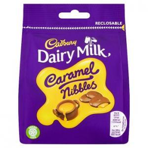 Cadbury Dairy Milk Caramel Nibbles 95g