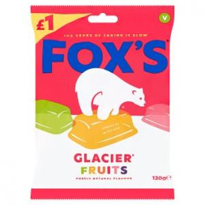 Foxs Glacier Fruits 130g